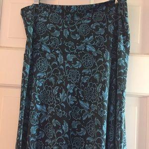 LuLaRoe Maxi skirt, size S